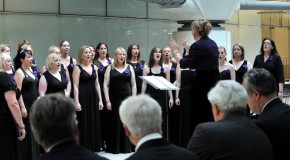 Salisbury Plain Military Wives Choir perform for MPs