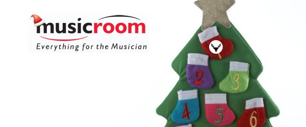 The Musicroom interactive advent calendar