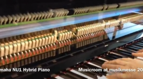 Musikmesse 2012: Introducing the Yamaha NU1 Hybrid Piano