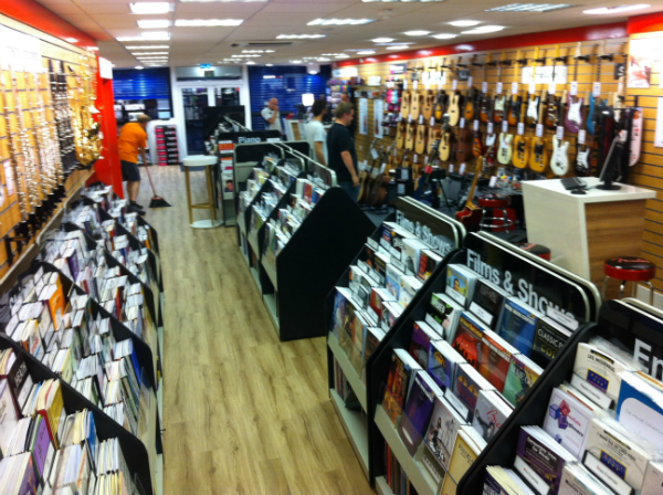 New Edinburgh store sheetmusic