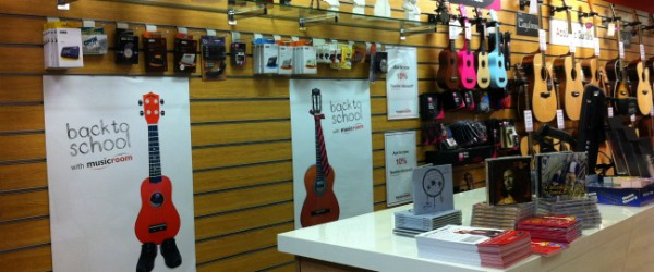 Rae Macintosh Musicroom's grand reopening in Edinburgh