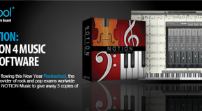 WIN a copy of Notion in Rockschool's new year competition