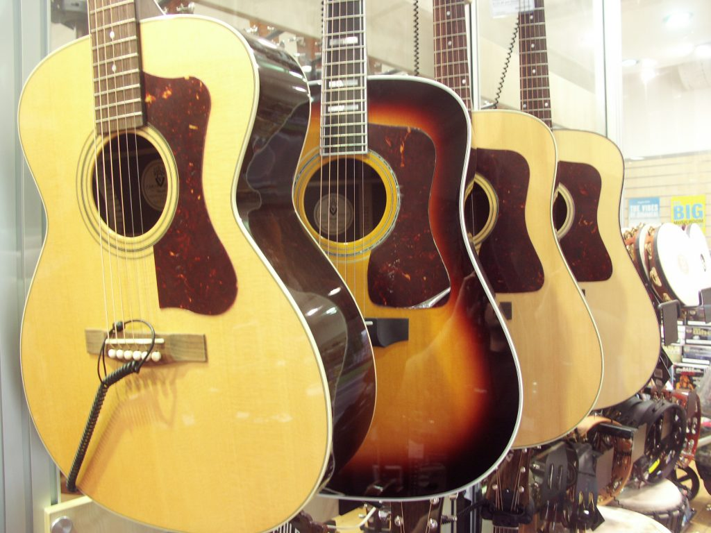 Bristol take stock of Guild guitars
