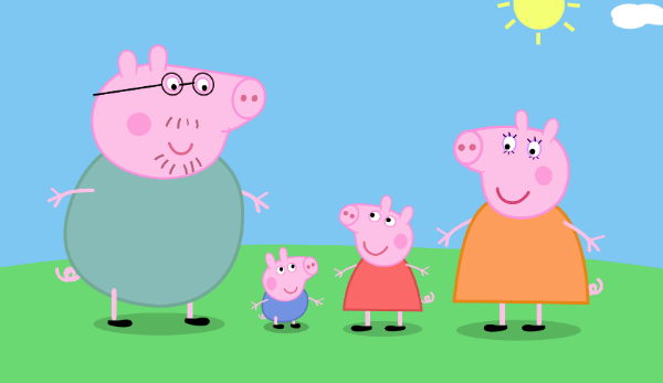 Are you interested in a Peppa Pig songbook series for kids?
