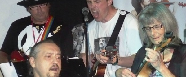 The Pompey Pluckers at the Cellars in Eastney – Monday April 8
