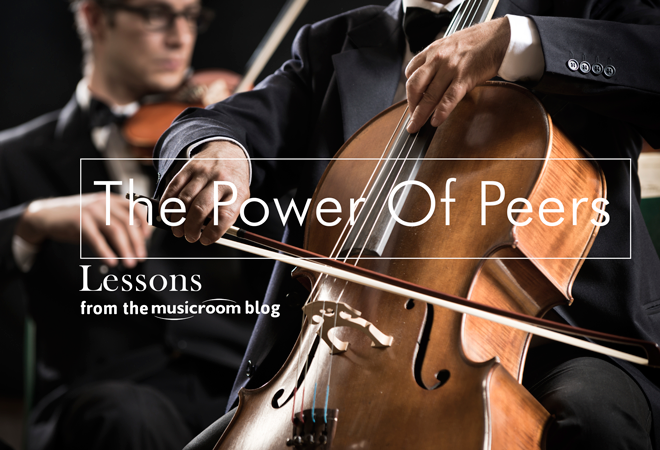 The Power Of Peers: Informal Performances Can Build A Student's Confidence