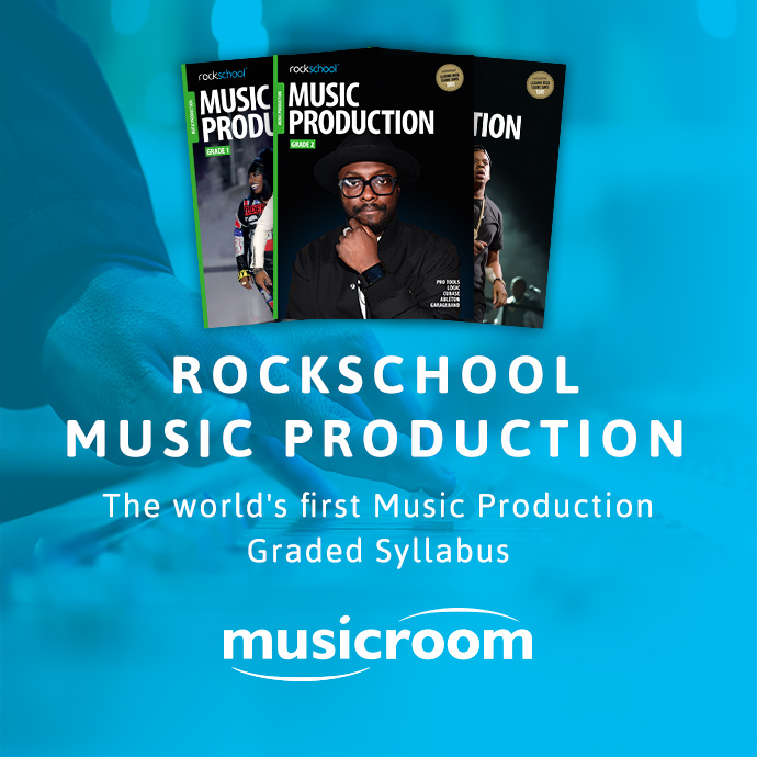 Rockschool leads the way in Music Production with a brand new syllabus