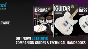 Out now: Rockschool 2012-2018 Companion Guides and Technical Handbooks