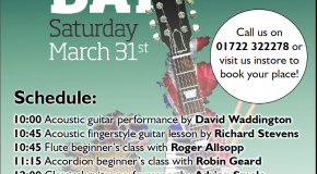 Learn To Play Day 2012: Musicroom Salisbury's bumper line up offers visitors free lessons on a variety of instruments