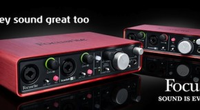 Scarlett 2i4 interface revealed. Preorder now from Musicroom