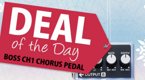 Advent calendar day 8: Super deal on Boss CH1 Super Chorus pedal