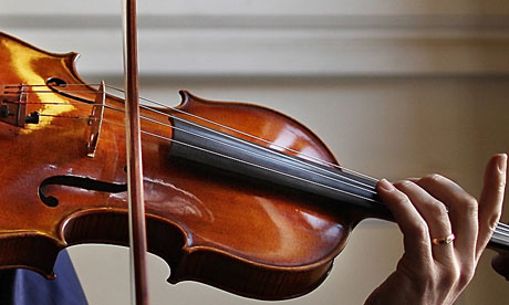 Concert violinists 'can't tell a Stradivarius from a new violin'