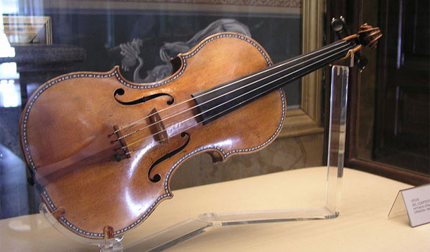 Young violinist wins the chance to play a £4million Stradivarius