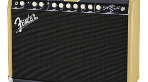 Fender Super-Sonic 'Black Gold' limited edition Amplifiers coming to musicroom