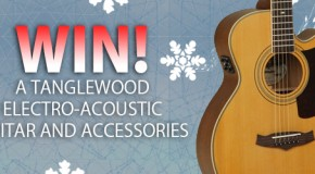 Advent calendar day 10: WIN a Tanglewood guitar