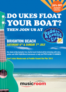 UkesBrightonPaddlePoster