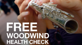 FREE Woodwind Health Check Up at Musicroom Salisbury – August 30