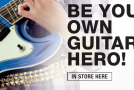 Half-term events: Be your own guitar hero at Musicroom London on May 29
