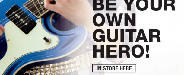 Half-term events: Be your own guitar hero at Musicroom York on May 25