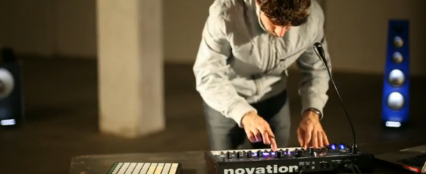 Sneak preview Novation MiniNova demo at Musicroom York
