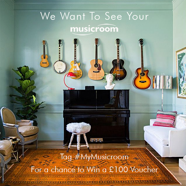 Show Us Your Music Room On Instagram & Win A £100 Voucher