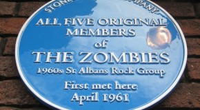 Legendary band The Zombies honoured by blue plaque