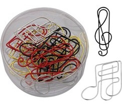 musical paperclips