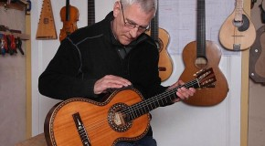 100-year-old Ibanez guitar saved from a rubbish tip for just £5