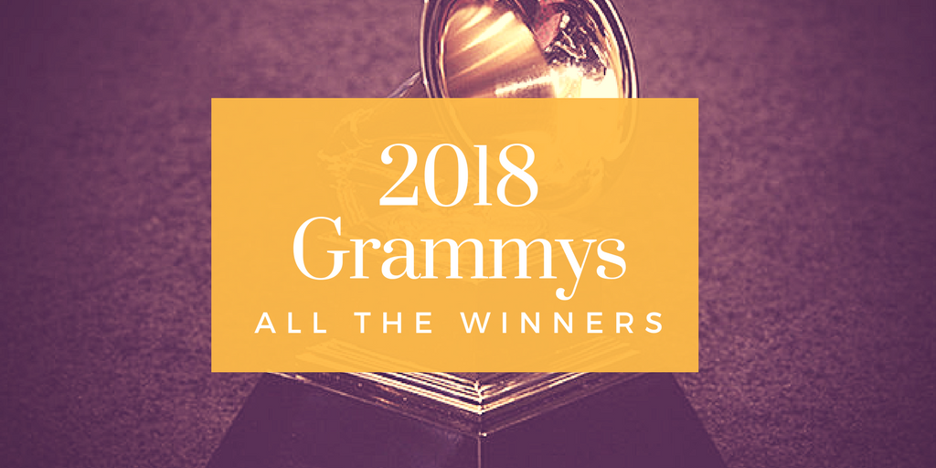 The Grammys 2018 – All the Winners, but where are the women?