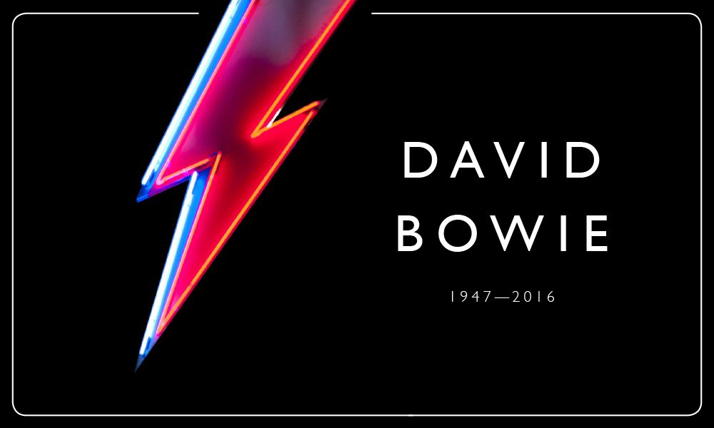 David Bowie 1947 – 2016: 'Words Cannot Express'