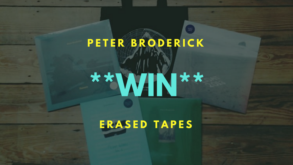 *WIN* Peter Broderick & Erased Tapes Goodies