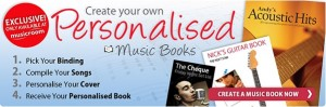 Personalised Music Books