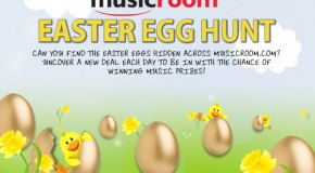 WIN prizes in the Musicroom Easter Egg Hunt