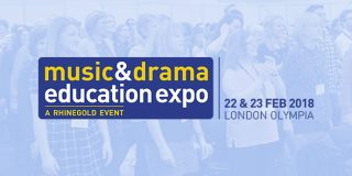 The Music & Drama Education Expo 2018 at Olympia, London