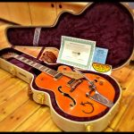 The guitar comes with its own hard case and certificate of authenticity from the Gretsch Custom Shop.