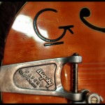 """The Gretsch """"Relic"""" effect gives the guitar a truly vintage look"""