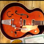 The body of our Gretsch G6120DSW Relic