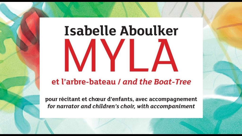 "Isabelle Aboulker: ""Myla and the Boat-Tree"" A Musical Play"