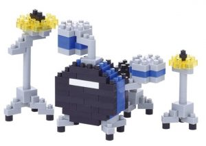 Nanoblocks: Drums for Father's day