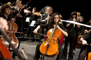 Young musicians improve their skills at April event