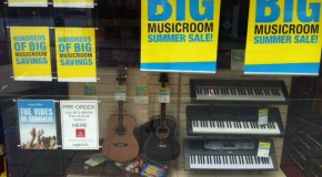 A scorching summer sale at Musicroom Portsmouth