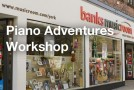 Banks Musicroom York – Hal Leonard Piano Adventures Workshop
