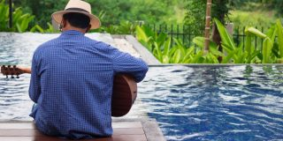Playing Poolside with Musicroom