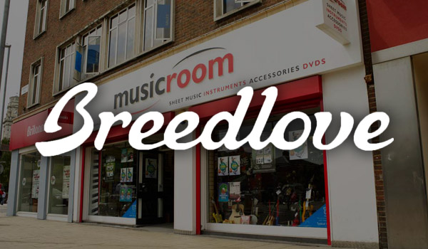 Breedlove Guitars at Musicroom Portsmouth – Launch Event