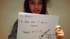 Violinist Jenny Bae answers fan questions on Reddit
