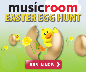 We'll be hiding a new golden egg each day somewhere on Musicroom.com. Can you use the clues to find the egg and WIN a prize?