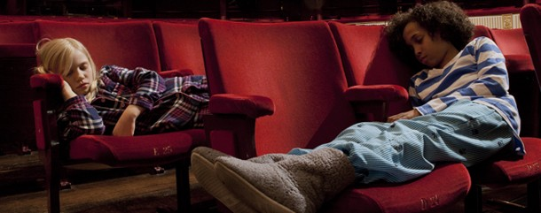 Kids settle down for a night at the Royal Opera House