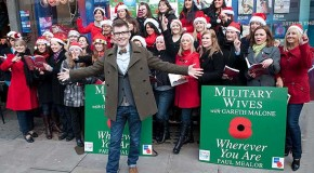 Debut album from Military Wives tops the UK chart