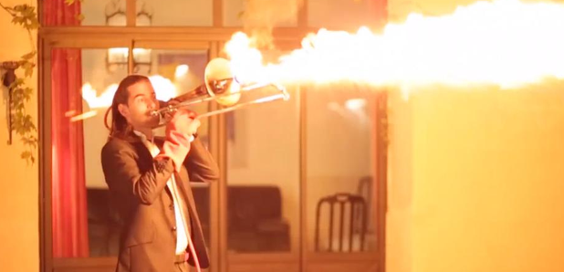 Totally Impractical Instrument Hacks: A Trombone Flamethrower
