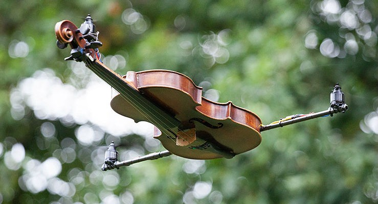 The Violincopter: Airborne On The G String
